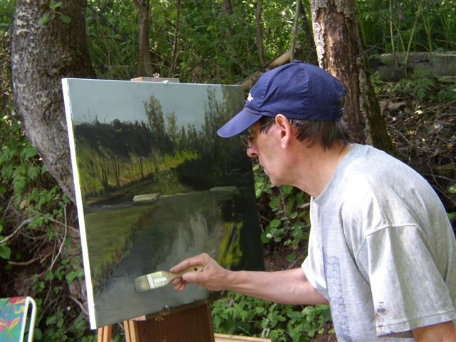 Pintar un cuadro imagui for Como pintar un cuadro abstracto