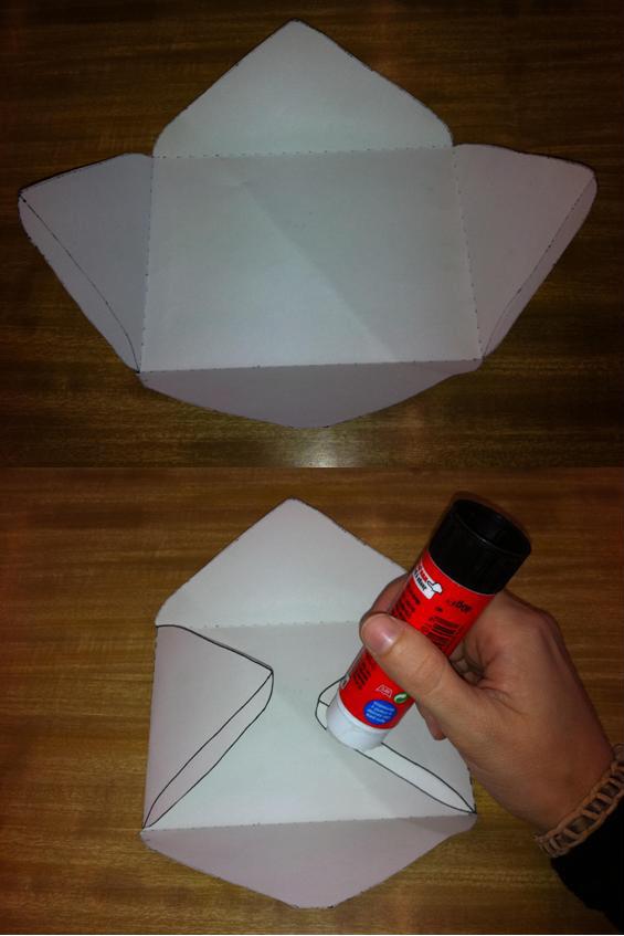 Como hacer un sobre de papel para cartas paso a paso imagui - Como hacer un estor enrollable paso a paso ...