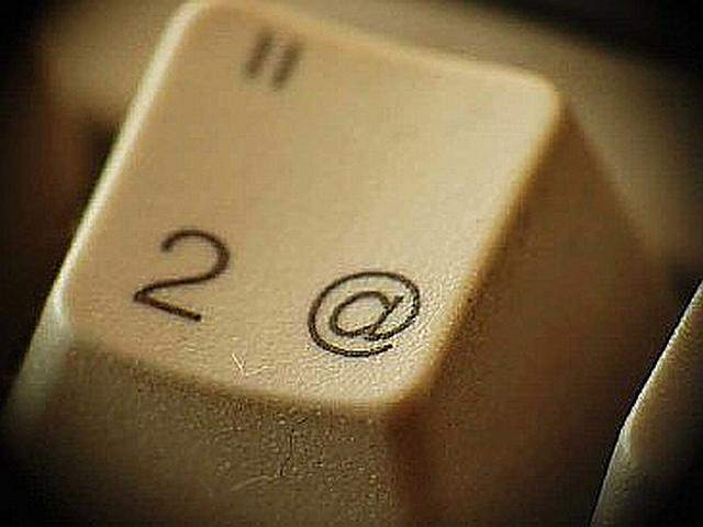 Cómo poner el arroba, diferentes atajos en el teclado