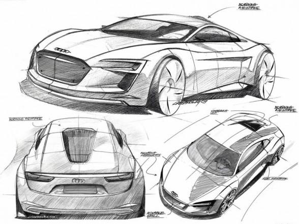 Dibujos de autos a lápiz fáciles - Imagui